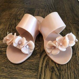 Melissa Pink Floral Slides 💕🌸🌸